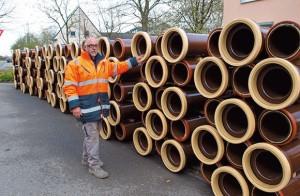 Rohre für Kanalisation in Rheinberg-Wallach